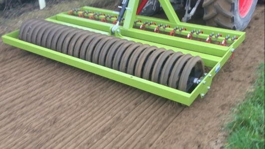 Gallop Harrow with Ring Rollers